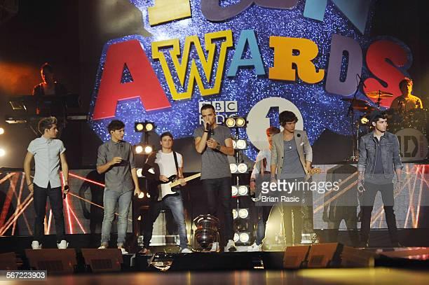 Bbc Radio 1'S Teen Awards Wembley Arena London Britain 07 Oct 2012 One Direction Niall Horan Louis Tomlinson Liam Payne Harry Styles Zayn Malik