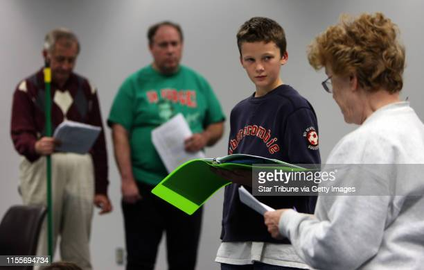 BISPING • bbisping@startribunecom Anoka MN Monday ] Michael Kruchten Mark Coon Jacob Gregersen and Susan Anderson rehearsed a scene from Ebeneezer...