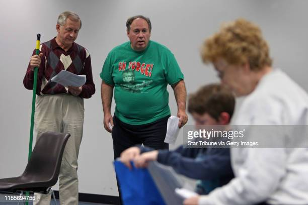 BISPING • bbisping@startribunecom Anoka MN Monday ] Michael Kruchten Mark Coon Patrick Kane and Susan Anderson worked on a scene during rehearsal...