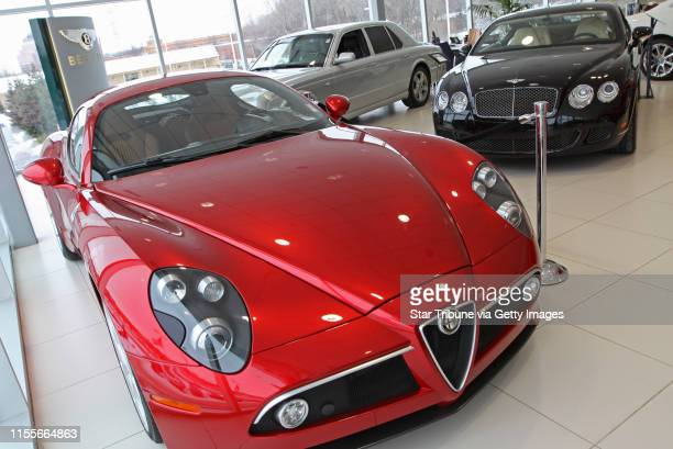 BISPING • bbisping@startribunecom Minnetonka MN Friday 1/9/2009] A 2008 Alfa Romeo 8C Competizione a used 2007 Bently Arnagt and 2009 Bentley...