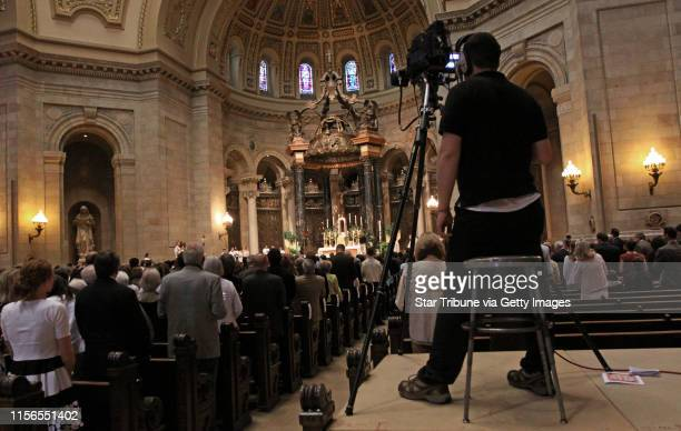 BISPING ¥ bbisping@startribunecom St Paul MN Saturday 5/28/11] Video cameras taped the mass of ordination for Jonathan J Kelly Cole T Kracke Nathan...