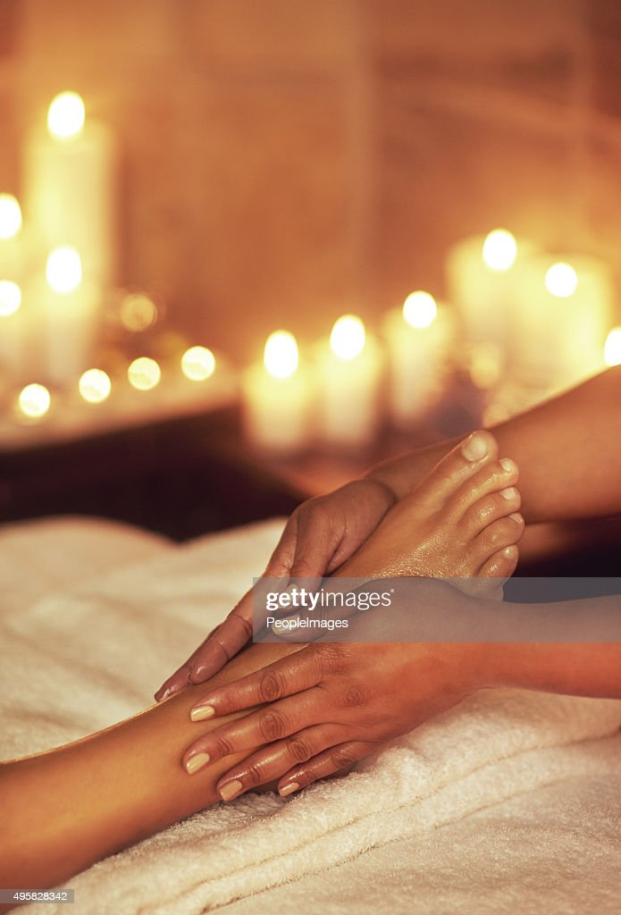 Be good to your feet : Stock Photo