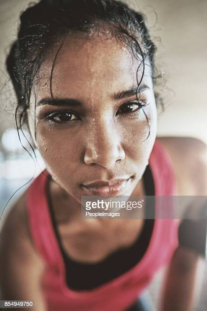 be stronger than your excuses - sweat stock pictures, royalty-free photos & images