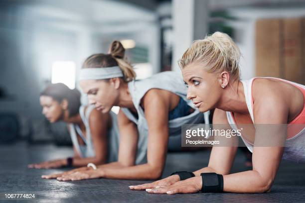 be the best you can be! - circuit training stock photos and pictures