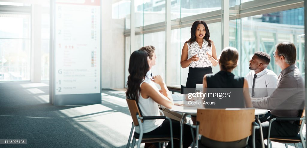 Be the leader when all others are following : Stock Photo