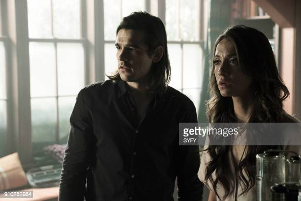 THE MAGICIANS Be the Penny Episode 304 Pictured Jason Ralph as Quentin Coldwater Stella Maeve as Julia Wicker