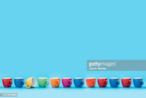 be unique cup of tea - cup stock pictures, royalty-free photos & images