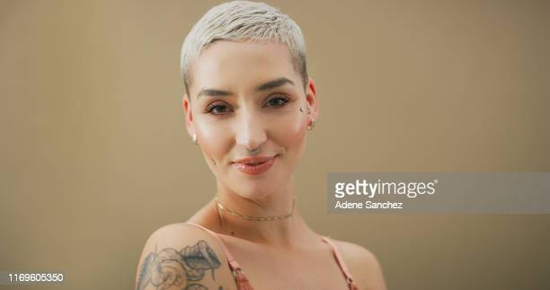 be your own brand of beautiful - nose piercing stock pictures, royalty-free photos & images