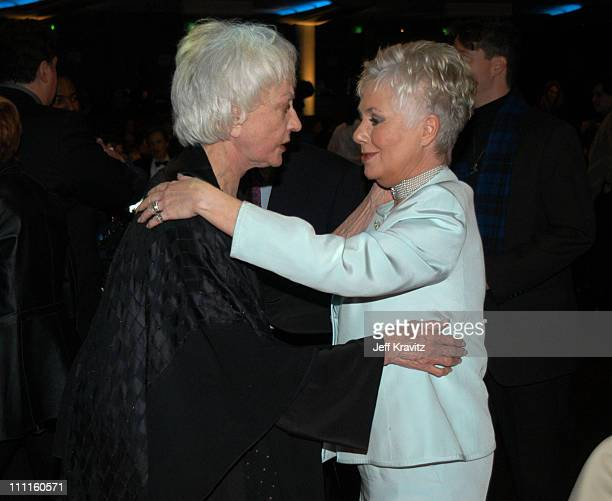 Bea Arthur and Shirley Jones during The TV Land Awards After Party at Hollywood Palladium in Hollywood CA United States