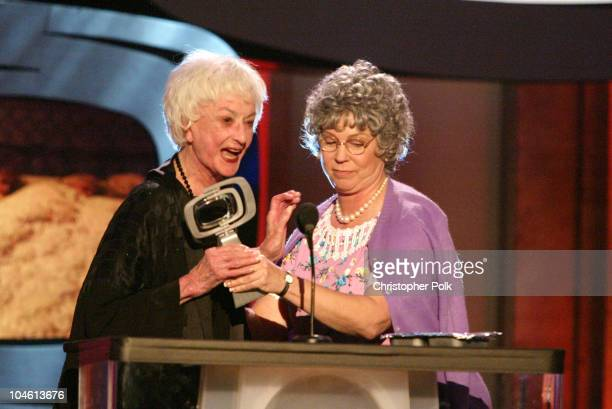 Bea Arthur and Vicki Lawrence during The TV Land Awards Celebration of Classic TV at Hollywood Palladium in Hollywood CA United States