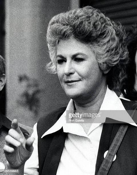 Bea Arthur during 28th Annual Tony Awards Rehearsal April 21 1974 at Schubert Theater in New York City New York United States