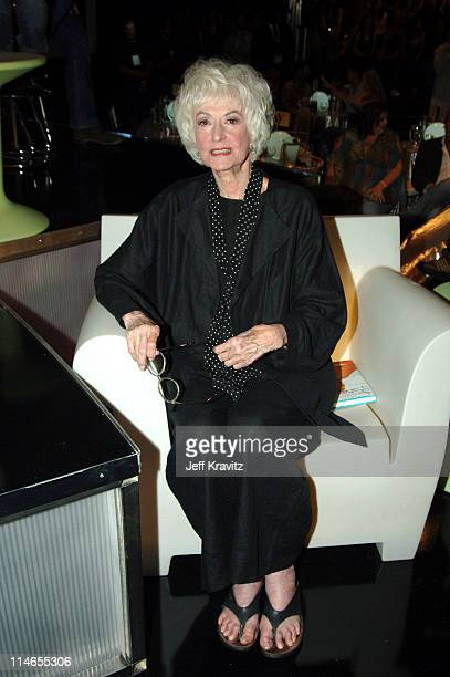 Bea Arthur during Comedy Central Roast of Pamela Anderson Backstage Green Room and Audience at Sony Pictures Studios in Culver City California United...