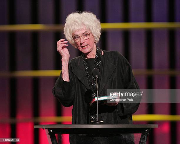 Bea Arthur during Comedy Central Roast of Pamela Anderson Show at Sony Studios in Culver City California United States