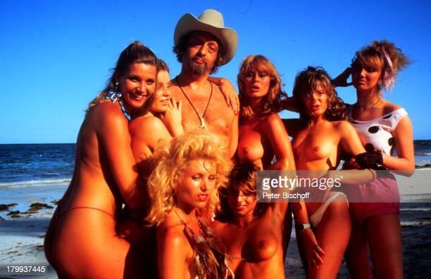 "Bea Fiedler, ""Dirndljagd am;Kilimandscharo""-RTL, u.a. Karl Dall,;Kino-Film ""Das verrückte Strandhotel"", im TV-""Dirndljagd am Kilimandscharo"" ,..."