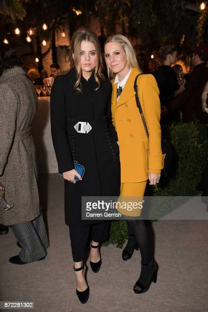 Bea Fresson and Alice Naylor Leyland attend 'Bottega Veneta the Hand of the Artisan' event at Chiswick House And Gardens on November 9 2017 in London...