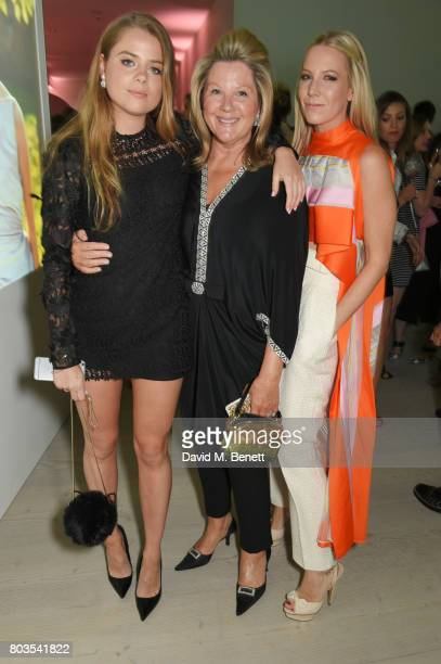 Bea Fresson Serena Fresson and Alice NaylorLeyland attend Tatler's English Roses 2017 in association with Michael Kors at the Saatchi Gallery on June...