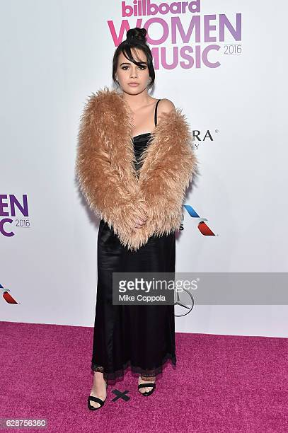 Bea Miller attends the Billboard Women in Music 2016 event on December 9 2016 in New York City