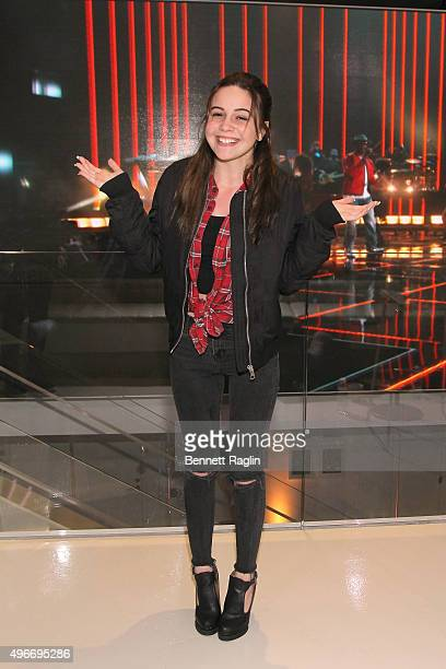 Bea Miller attends the iHeartMedia Hosts Future Of Entertainment Event During Fast Company's Innovation Festival Featuring Bea Miller on November 10...