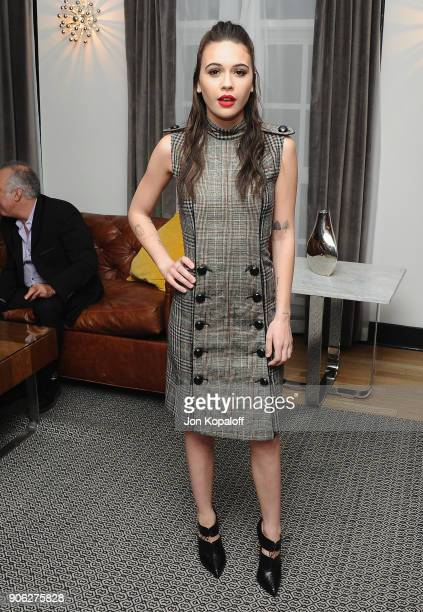 Bea Miller attends Wolk Morais Collection 6 Fashion Show at The Hollywood Roosevelt Hotel on January 17 2018 in Los Angeles California