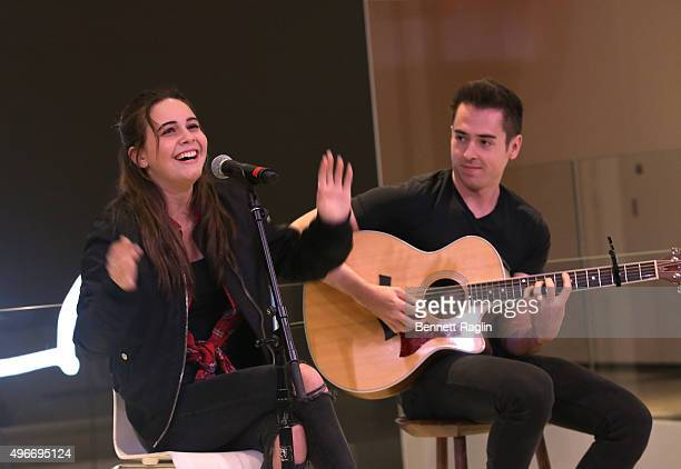 Bea Miller performs at iHeartMedia Hosts Future Of Entertainment Event During Fast Company's Innovation Festival Featuring Bea Miller on November 10...