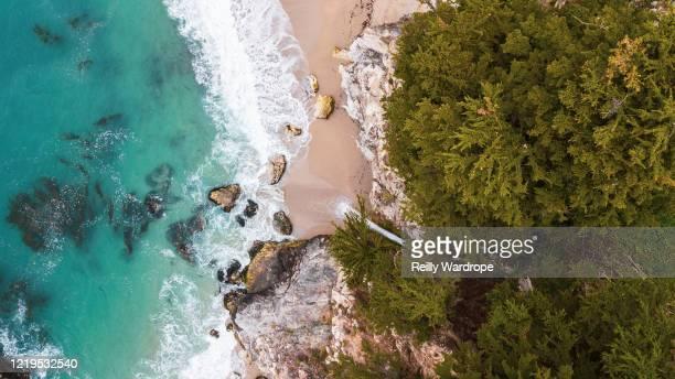 beach aerials, australia - gold coast ストックフォトと画像