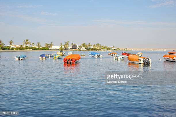 Beach and Boats in Paracas, Peru
