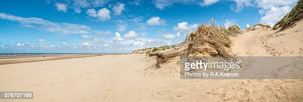 Beach and dunes at Formby point, Merseyside, England