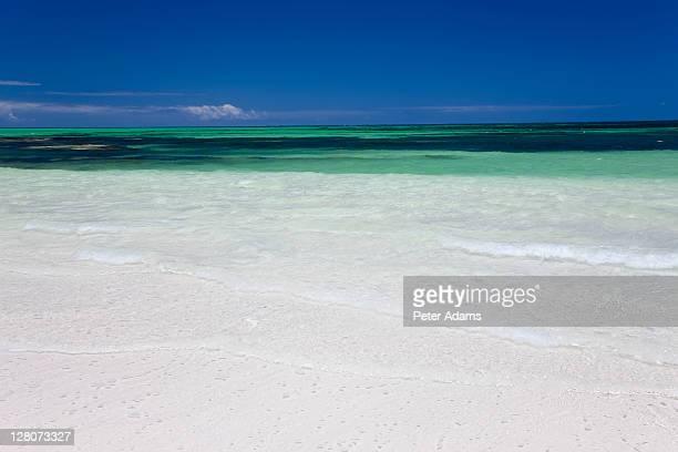 beach and indian ocean, cervantes, western australia, australia - esmeralda cervantes fotografías e imágenes de stock