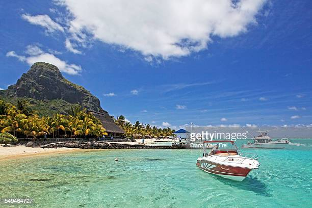 Beach and La Morne Brabant