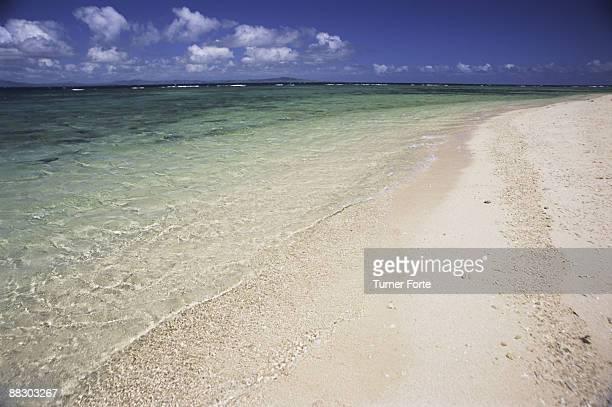Beach and ocean , Malamala Island , Fiji