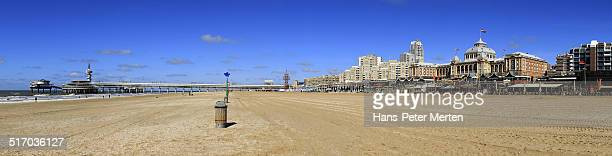 beach and Promenade,m Scheveningen, Netherlands