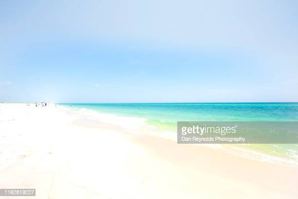 beach and sea hdr - high key stock pictures, royalty-free photos & images