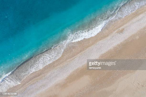 beach and sea - kas stock pictures, royalty-free photos & images