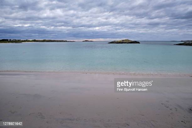 beach and shore at åkrasanden karmoy in norway - finn bjurvoll stock pictures, royalty-free photos & images