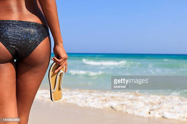 beach and vacation - beautiful bums stock pictures, royalty-free photos & images