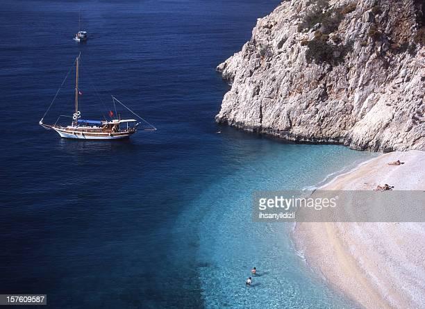 Strand und Yachten
