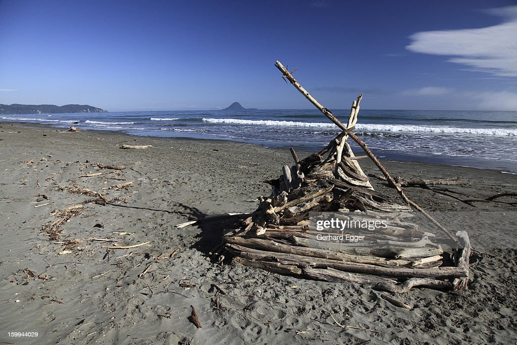Beach architecture : Stock Photo