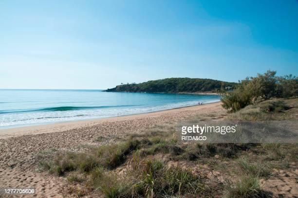 Beach at Agnes Water Queensland Australia.