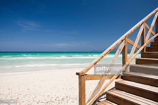 Beach at  Alcudia Bay