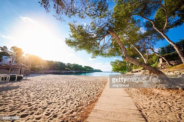 Beach at Cala Gran (sunrise)