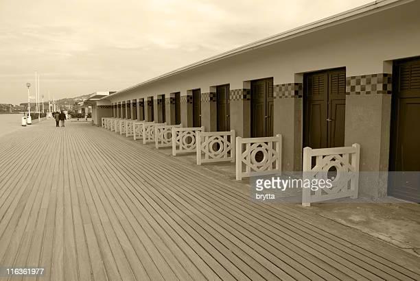 Plage de Deauville, Normandie, France