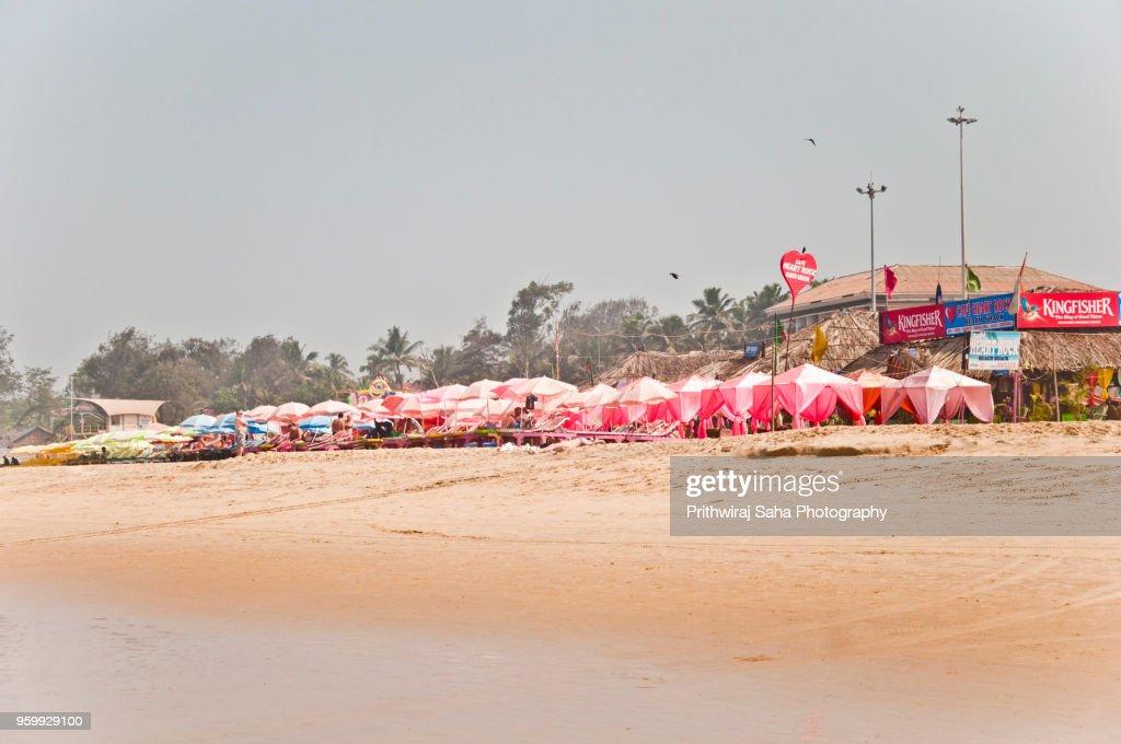 Beach at Goa : Stock-Foto