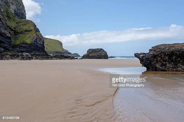 Beach at Mawgan Porth, Cornwall