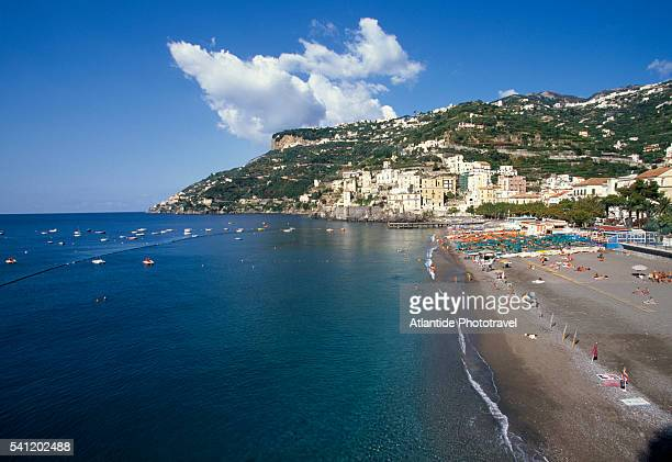 Beach at Minori in Southern Italy