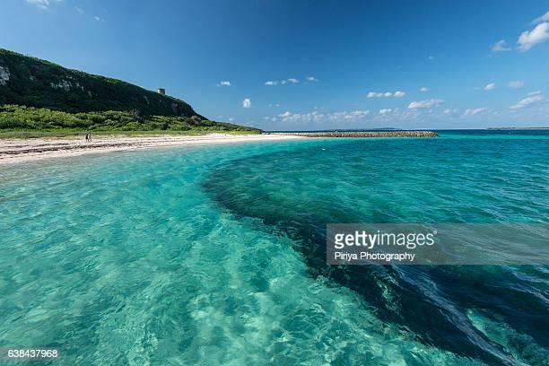 Beach at Miyako Island