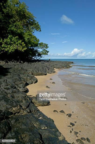 beach at nosy be island, madagascar - madagascar foto e immagini stock