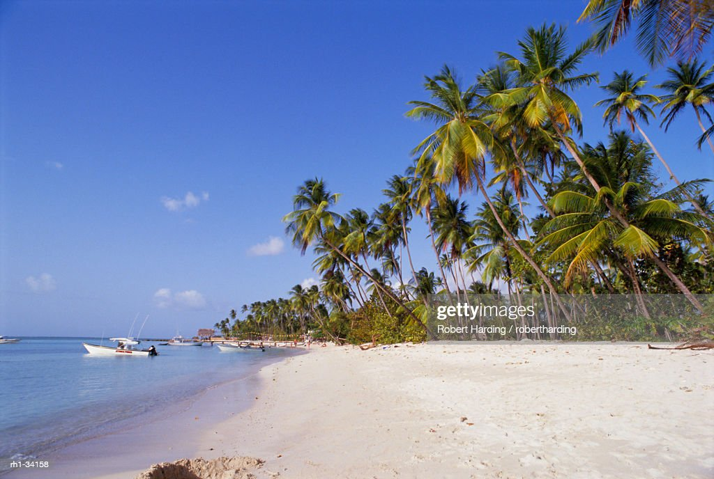 Beach at Pigeon Point, Tobago, Caribbean, West Indies, Central America : Foto de stock