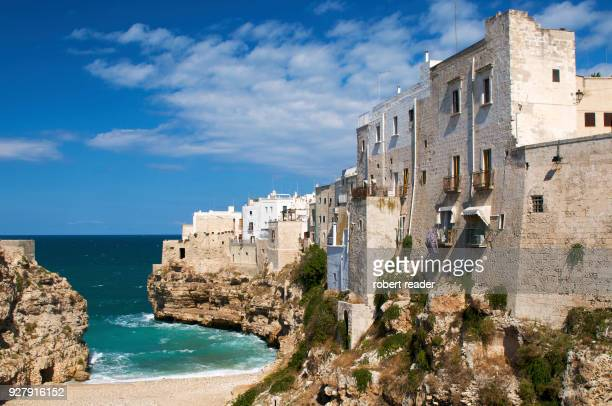Beach at Polignano a Mare, Puglia, Italy