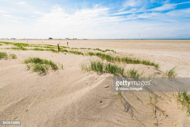Beach at Sankt Peter-Ording, Germany.