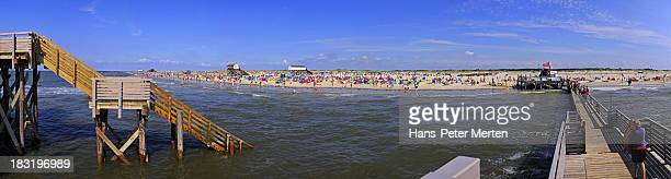 beach at St. Peter-Ording, North Frisia, Germany